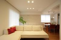 家具コレクションと調和したマンション